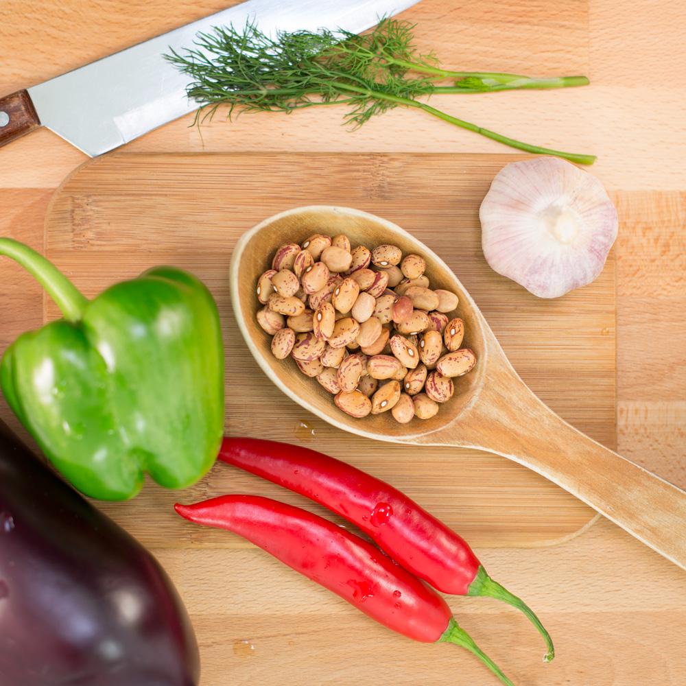 pintobönor cranberry beans
