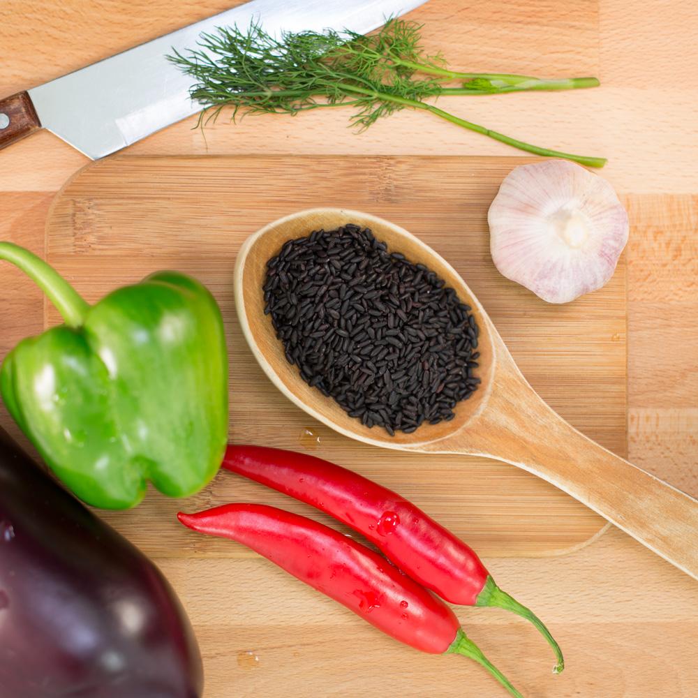 förbjudet svartris (fullkorn) forbidden black rice